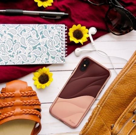 Husa Ringke Wave Rose Blush pentru iPhone X1