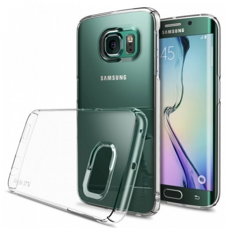 Husa Ringke SLIM CRYSTAL TRANSPARENT+BONUS folie protectie display Ringke pentru Samsung Galaxy S6 Edge Plus2