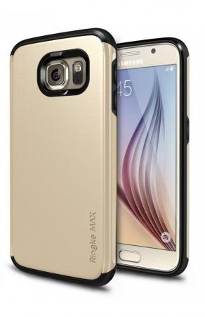 Husa Ringke ARMOR MAX ROYAL GOLD+BONUS folie protectie display Ringke pentru Samsung Galaxy S61