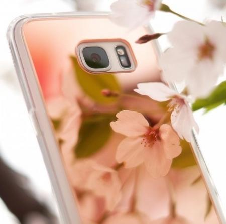 Husa Ringke MIRROR SILVER + BONUS folie protectie display Ringke pentru Samsung Galaxy S66