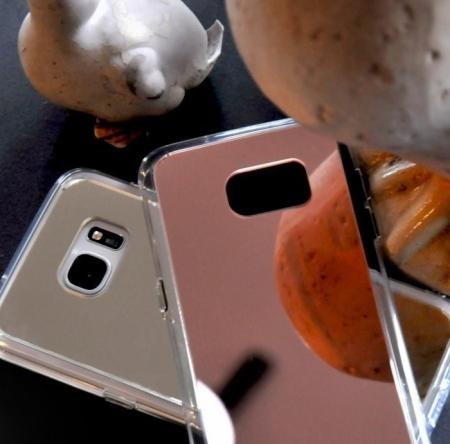Husa Ringke MIRROR SILVER + BONUS folie protectie display Ringke pentru Samsung Galaxy S63