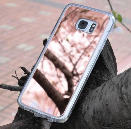 Husa Ringke MIRROR SILVER + BONUS folie protectie display Ringke pentru Samsung Galaxy S62