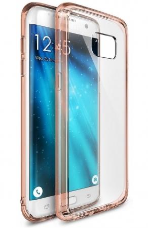 Husa Ringke FUSION ROSE GOLD pentru Samsung Galaxy S7 Edge1