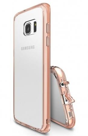 Husa Ringke FUSION ROSE GOLD pentru Samsung Galaxy S7 Edge2