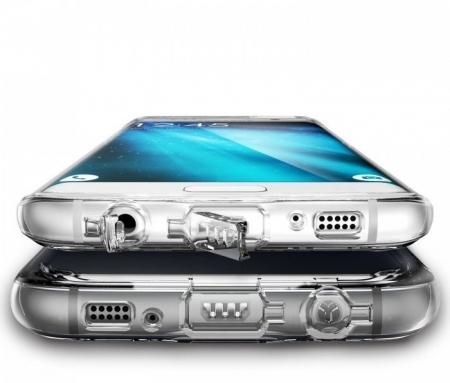 Husa Ringke FUSION ROSE GOLD pentru Samsung Galaxy S7 Edge3