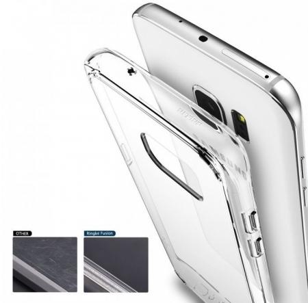 Husa Ringke FUSION ROSE GOLD pentru Samsung Galaxy S7 Edge5