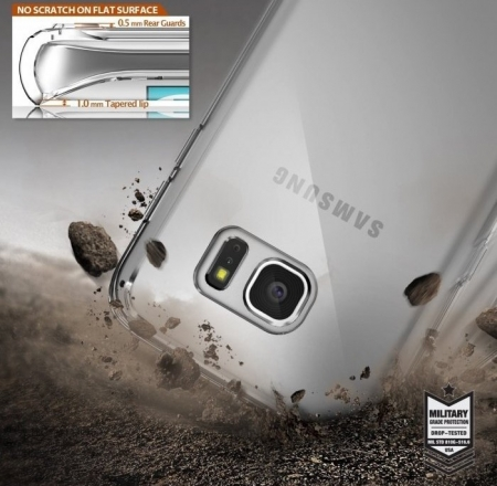 Husa Ringke FUSION ROSE GOLD pentru Samsung Galaxy S7 Edge6
