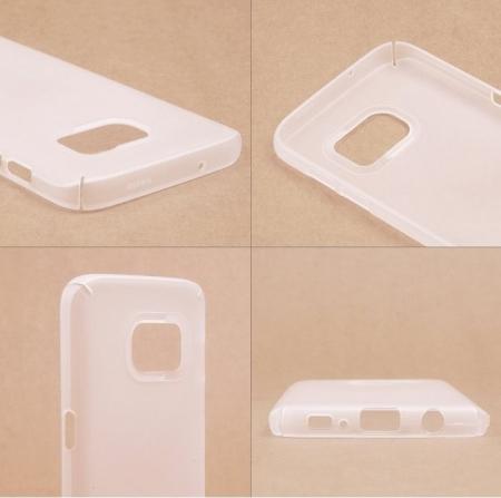 Husa Ringke Frost WHITE BONUS folie protectie display Ringke pentru Samsung Galaxy S71