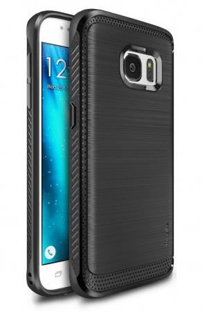 Husa Ringke ONYX BLACK + folie Ringke cadou pentru Samsung Galaxy S70