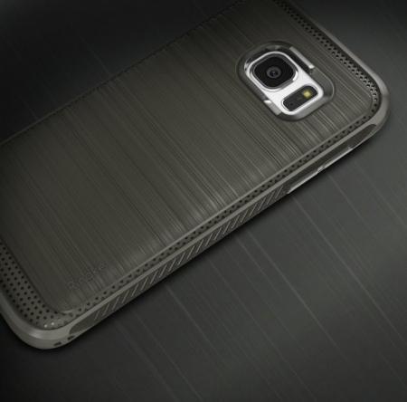 Husa Ringke ONYX BLACK + folie Ringke cadou pentru Samsung Galaxy S72