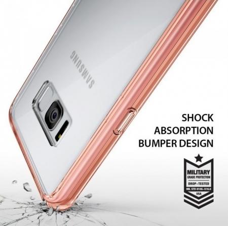 Husa Ringke Fusion Smoke Black pentru Samsung Galaxy S8 Plus2