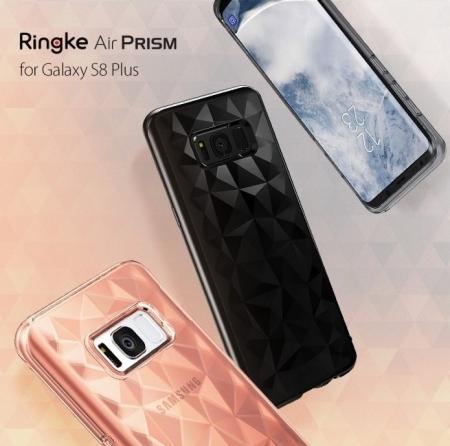 Husa Ringke Prism Rose Gold pentru Samsung Galaxy S8 Plus6