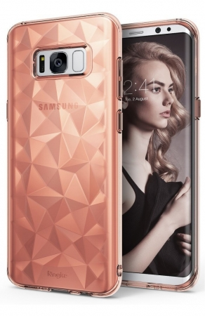 Husa Ringke Prism Rose Gold pentru Samsung Galaxy S8 Plus0