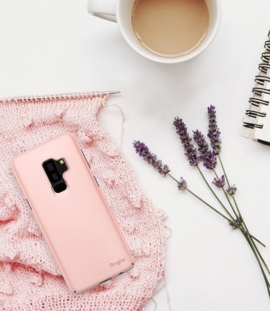 Husa Ringke Slim Rose pentru Samsung Galaxy S9 Plus2