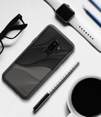 Husa Ringke Wave Black pentru Samsung Galaxy S9 Plus2