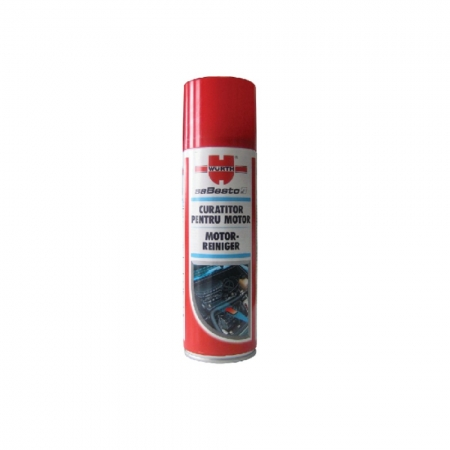 Spray curatare si degresare motor Wurth, 300 ml