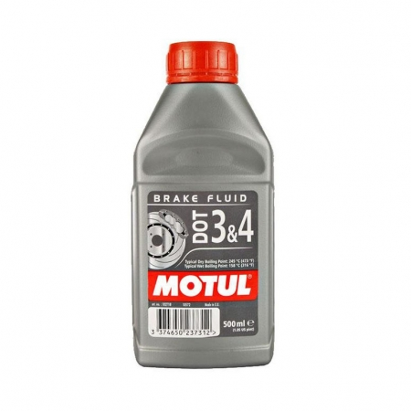 Lichid frana Motul DOT 3 & 4, 500 ml