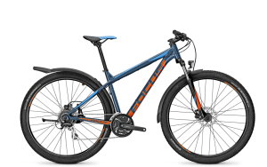 Bicicleta Focus Whistler Elite 29 Plus 24G albastra 2016