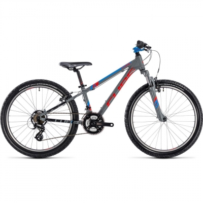 BICICLETA CUBE KID 240 Action Team Grey 2018