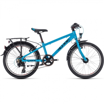 BICICLETA CUBE KID 200 STREET BOY Blue Black 2018