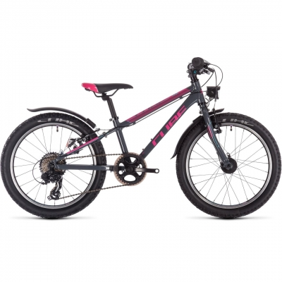 BICICLETA CUBE ACCESS 200 ALLROAD Grey Blue Pink 2019