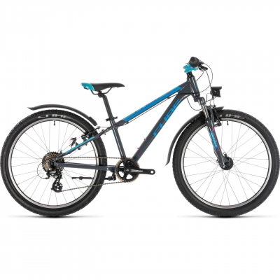 BICICLETA CUBE ACCESS 240 ALLROAD Grey Blue Pink 2019