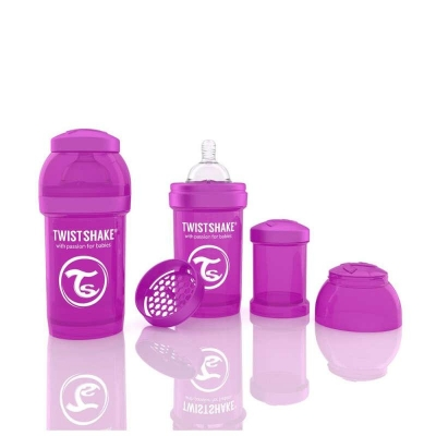 Biberon Anti-colici 180 ml Twistshake Violet