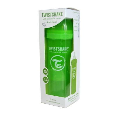 Biberon Anti-colici 330 ml Twistshake Verde