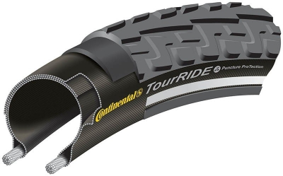 Anvelopa Continental Ride Tour Reflex Puncture-ProTection 47-622 (28 1,75) negru/negru