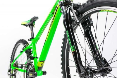 BICICLETA COPII CUBE KID 240 Black Green 2017