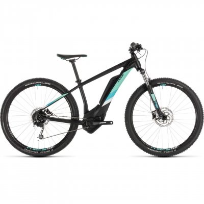 BICICLETA CUBE ACCESS HYBRID ONE 400 Black Mint 2019