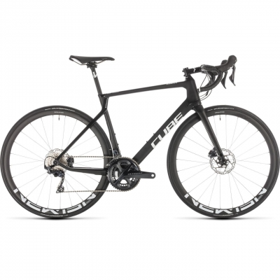 BICICLETA CUBE AGREE C:62 RACE DISC Carbon White 2019