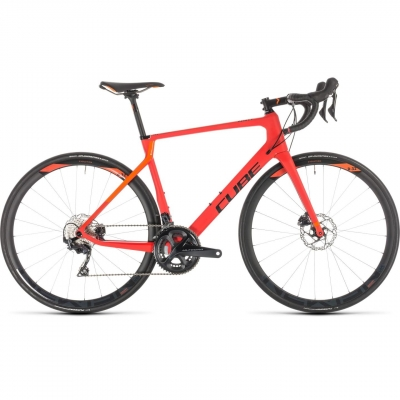 BICICLETA CUBE AGREE C:62 RACE DISC Red Orange 2019