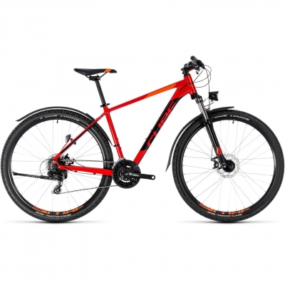 BICICLETA CUBE AIM ALLROAD Red Black 2018