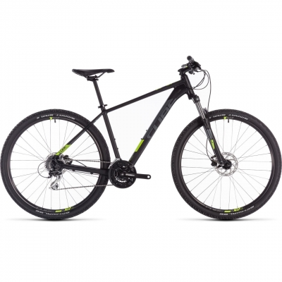 BICICLETA CUBE AIM PRO Black Flashyellow 2019