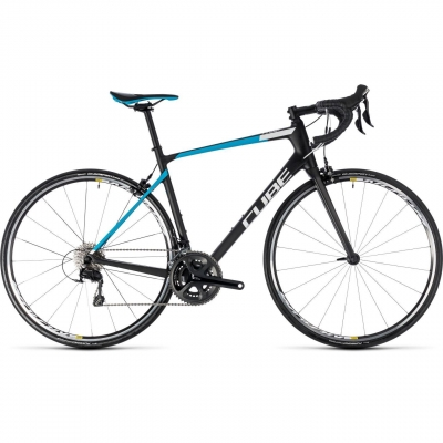BICICLETA CUBE ATTAIN GTC PRO Carbon Blue 2018