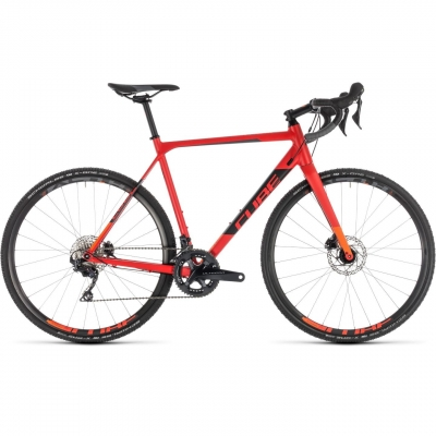 BICICLETA CUBE CROSS RACE SL Red Orange 2019