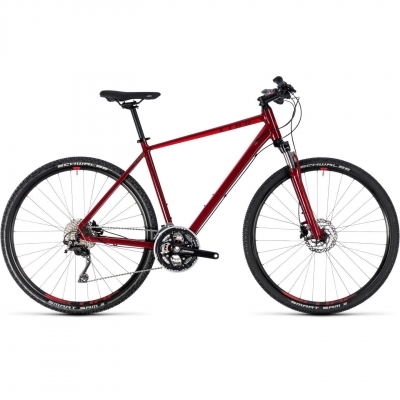 BICICLETA CUBE NATURE SL Darkred Red 2018