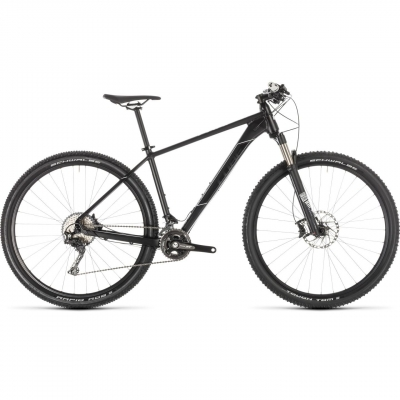 BICICLETA CUBE RACE ONE Black White 2019