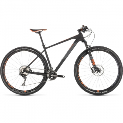 BICICLETA CUBE REACTION C:62 RACE Carbon Orange 2019