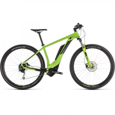 BICICLETA CUBE REACTION HYBRID ONE 400 Green Iridium 2019
