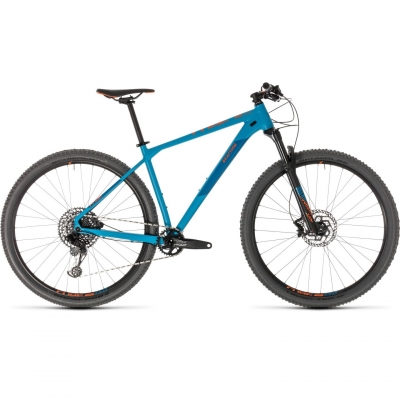 BICICLETA CUBE REACTION RACE Blue Orange 2019