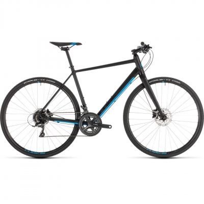 BICICLETA CUBE SL ROAD Black Blue 2019