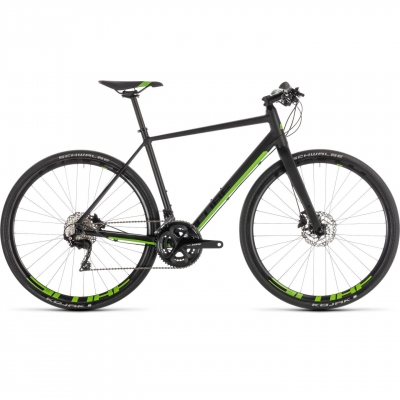 BICICLETA CUBE SL ROAD RACE Black Green 2019