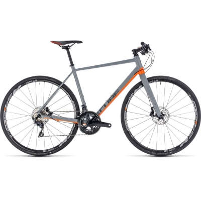BICICLETA CUBE SL ROAD SL Grey Orange 2018