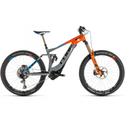 BICICLETA CUBE STEREO HYBRID 160 ACTION TEAM 500 27.5 Actionteam 2019