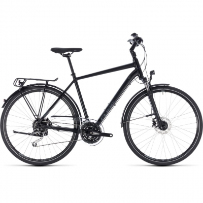 BICICLETA CUBE TOURING EXC Black Grey 2018