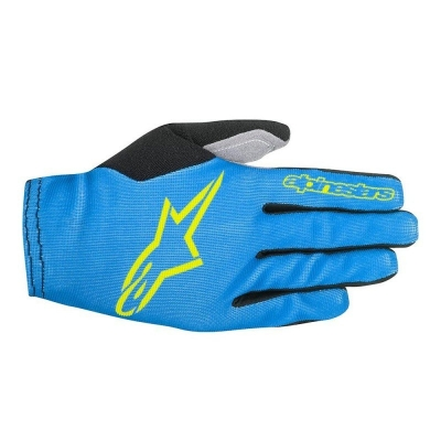 Manusi Alpinestars Aero 2 bright blue/acid yellow L