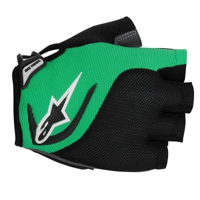 Manusi Alpinestars Pro-Light Short Finger black bright green L