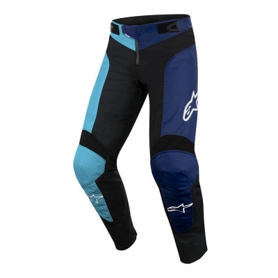 Pantaloni Alpinestars Vector black/atoll blue 30 - Copie